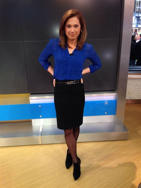 ginger zee color and cut on gma top i bought at aritzia designer is wilfred skirt is