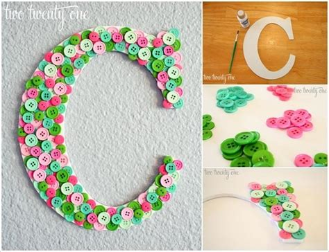Gasper Hiasan Baju 1 this button monogram can be the best decor for your