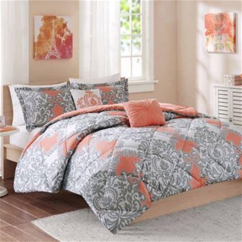 coral bedding buy coral comforter sets from bed bath beyond