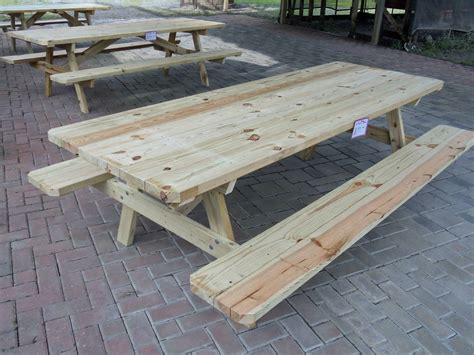 how to build a 8 ft picnic table 8 picnic table plans free gallery bar height dining