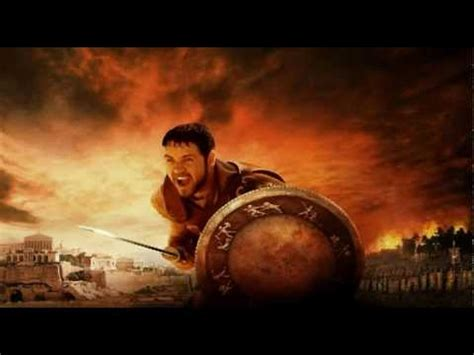 theme music gladiator movie gladiator the battle super theme song youtube