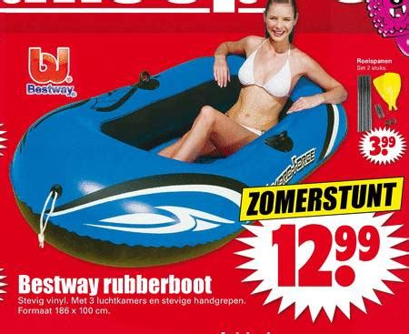 intertoys rubberboot opblaasboot folder aanbieding bij bas dirk digros details