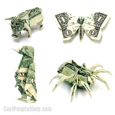 Cool Dollar Bill Origami - 94 best origami images on paper origami paper