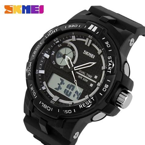 Skmei Jam Tangan Analog Digital Pria Ad1202 2 skmei jam tangan digital analog pria ad1070 black
