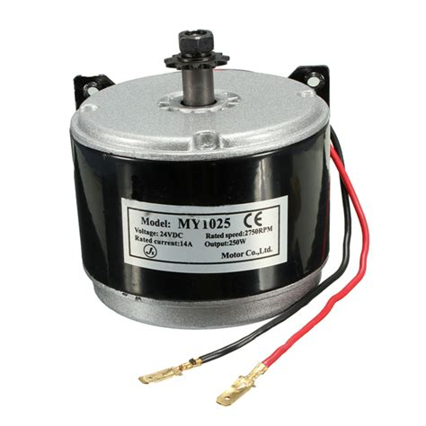 24v Electric Motor by Dc 24v Electric Motor Brushed 250w 2750rpm 2 Wired Chain
