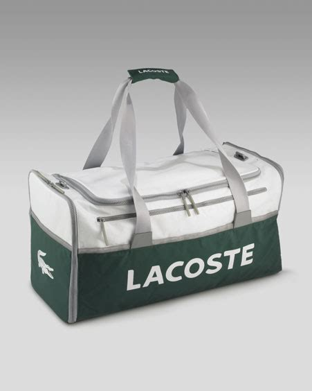 Lacoste Tote Leather Ii lacoste tennis bag 80s tote bag leather