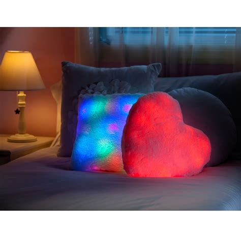 Light Bright Pillow by Bright Light Pillow Pink New Cuddly Soft