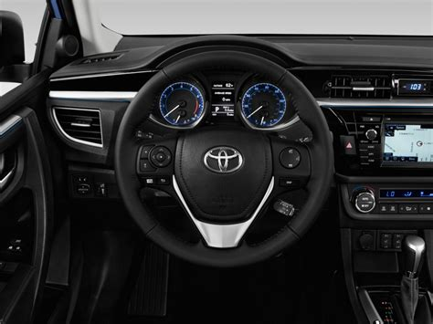 Wheel Size Toyota Corolla Image 2016 Toyota Corolla 4 Door Sedan Cvt S Premium