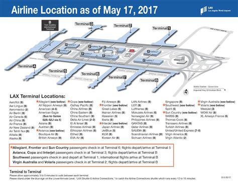 map los angeles lax delta s big move at lax confirmed begins may 12th