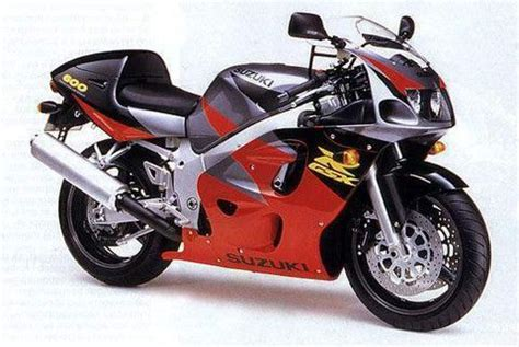 Suzuki Gsx R600 Motorcycle Service Repair Manual 1997 1998