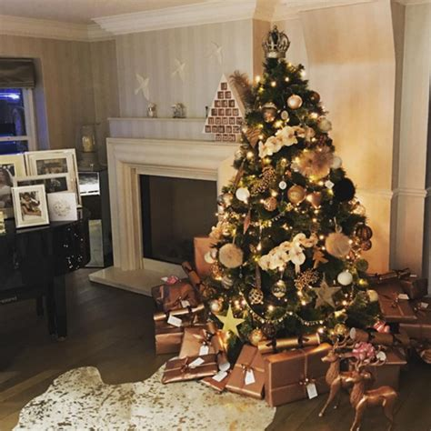Christmas Decorations In Homes lavish trees and over the top decorations how the stars