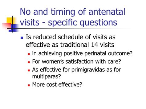 ppt routine antenatal care powerpoint presentation id 158483