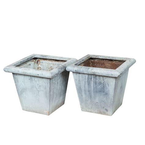 Sho Zinc zinc planters the found shop