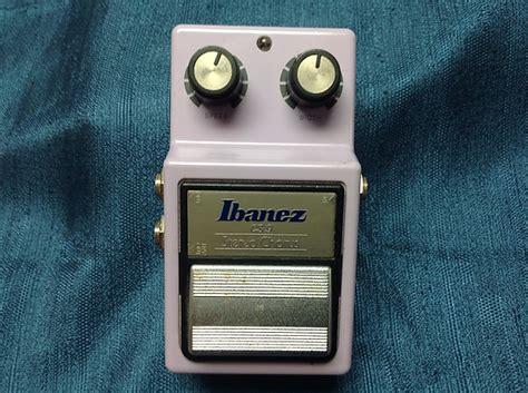 Ibanez Cs Chorus Mini Pedal Effect ibanez cs9 stereo chorus effects pedal reverb