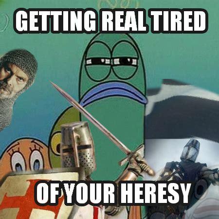 Deus Vult Memes - serious fish deus vult deus vult know your meme