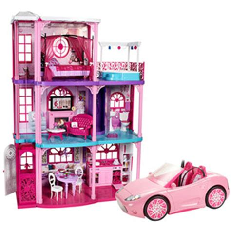 barbie doll house walmart barbie doll houses at walmart