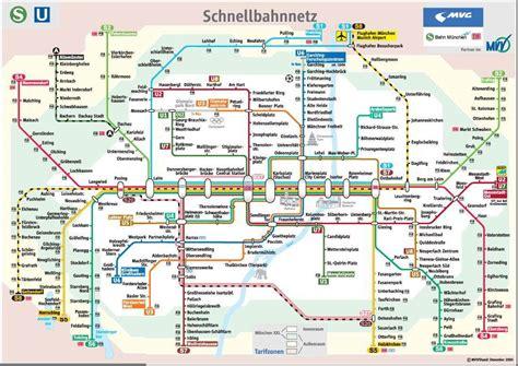 munich metro map munich subway map munich u bahn mapa metro