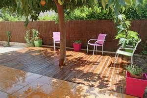 terrasse de jardin en bois terrasse jardin bois