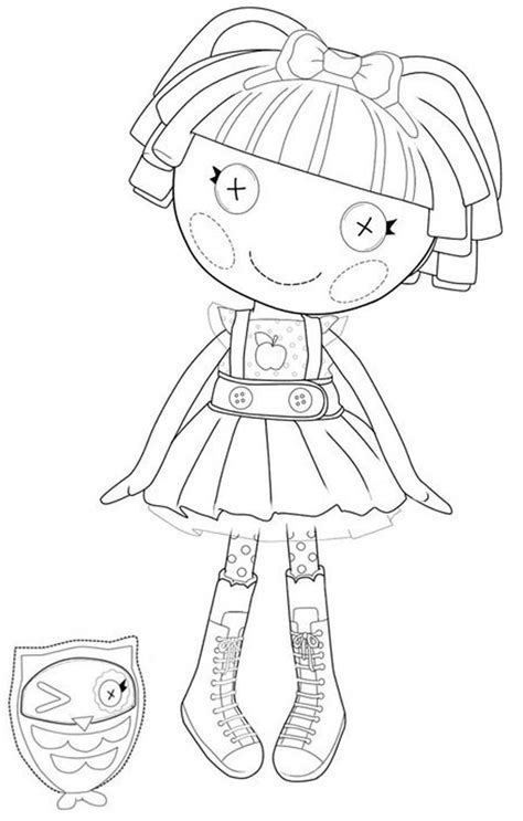 lalaloopsy coloring pages baby bea spells a lot from lalaloopsy page color luna 10124