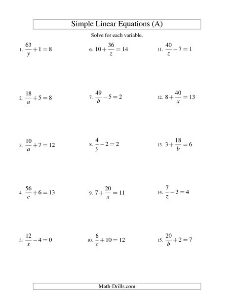 Solving Two Step Equations Worksheet by 2 Step Linear Equations Worksheet Calleveryonedaveday