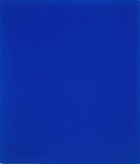 Yves Klein Blue by I Never Knew How Blue Blueness Could Be Maggie Nelson S