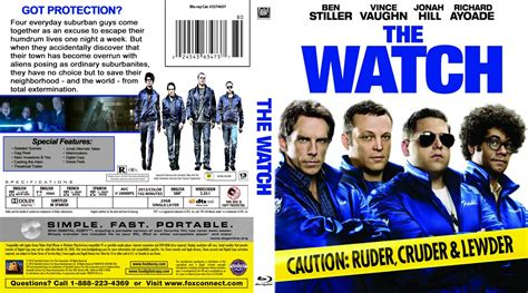 film blu watch the watch movie blu ray custom covers the watch br