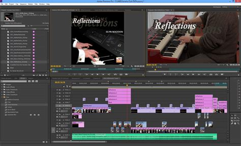 adobe premiere cs6 uk glyn madden reflections audio cd trailer produced by