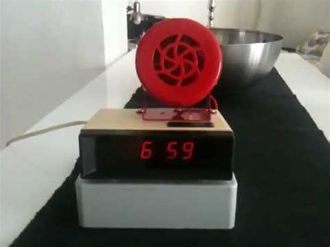 really really loud alarm clock