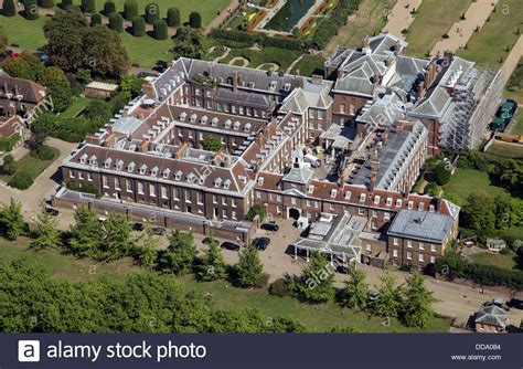 royalty kate and william s kensington palace home in aerial view of kensington palace in london home of prince