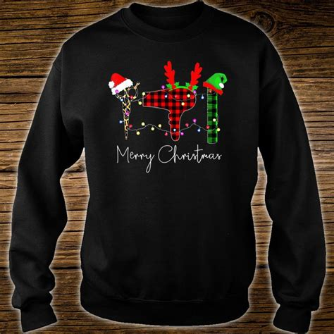 official merry christmas hairstylist tool hairdresser barber shirt hoodie tank top  sweater