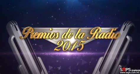 lista completa de nominados a los premios de la radio 2015
