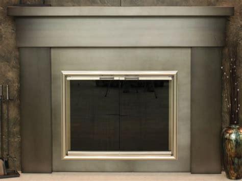 Steel Fireplace Mantel by Custom Steel Mantel Shelf