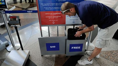 spirit baggage fees flying a budget airline for the holidays beware the