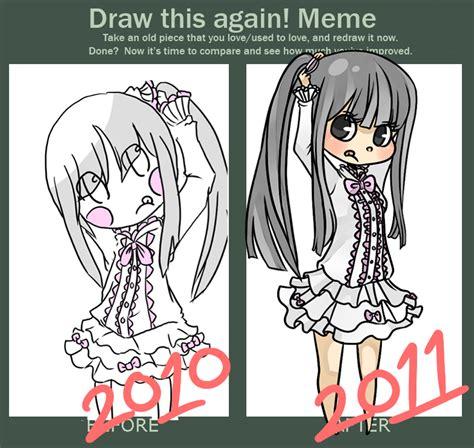 Draw This Again Meme - draw again meme by stripedpants on deviantart