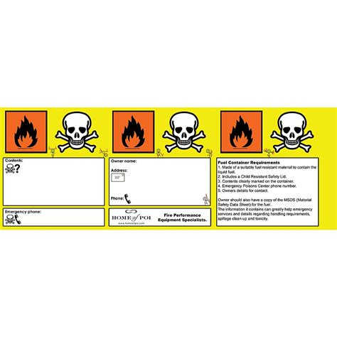 home of poi purchase single hop fuel safety sticker