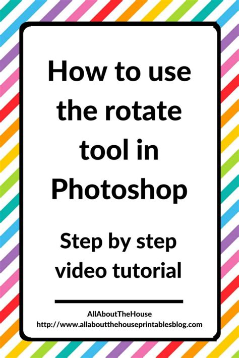 rotate pattern in photoshop photoshop for beginners how to use the rotate tool in