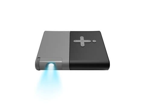 Lenovo Pocket the lenovo pocket projector blows up your smartphone screen to 110 quot with a 50 lumen shine