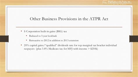 section 56 of income tax act 2013 mckonly asbury webinar 2013 tax update fiscal cliff