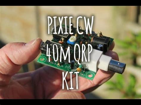 Make Up Kit Pixy 40m qrp pixie kit build for ham radio