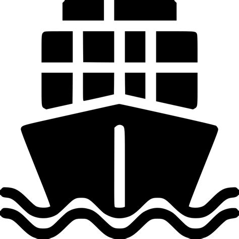 ship icon cargo ship svg png icon free download 538295