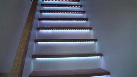 led per scale interne illuminare le scale con le a led ecco 20 idee design