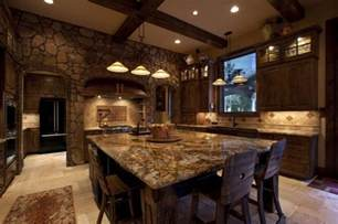 kitchen design rustic 20 beautiful rustic kitchen designs