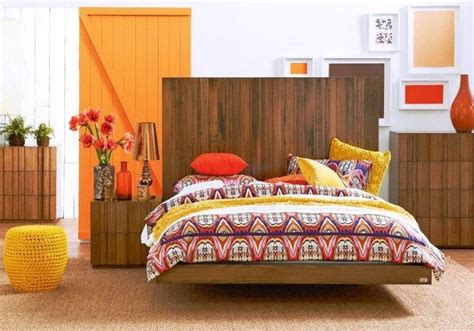 orange and brown bedroom an orange brown and white bedroom dormitorios pinterest