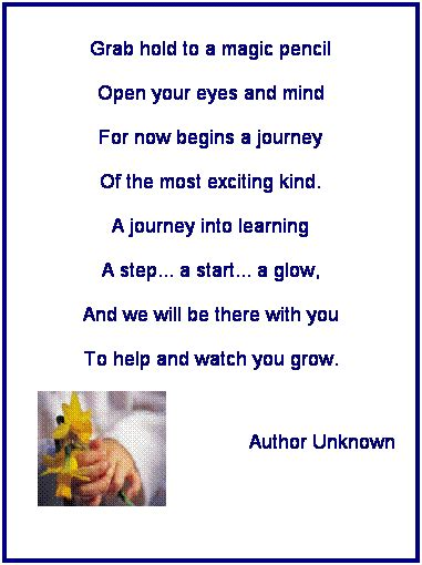 Early Poems poem on ece we do more than just play
