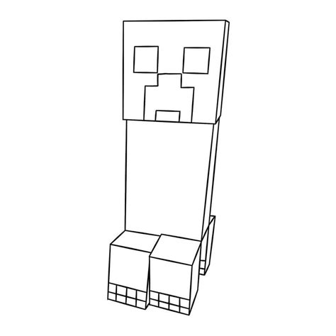 40 Coloring Page by 40 Printable Minecraft Coloring Pages