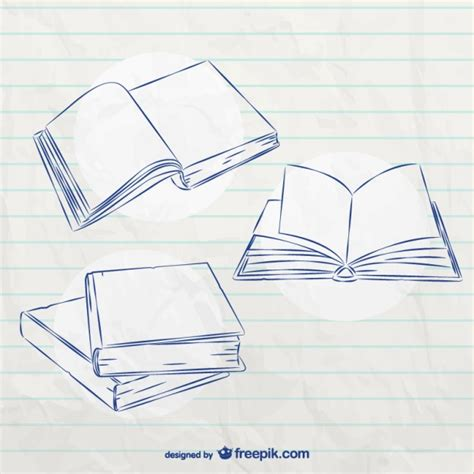 Sketches Book by Book Sketches Vector Free