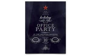 office holiday party flyer template word amp publisher