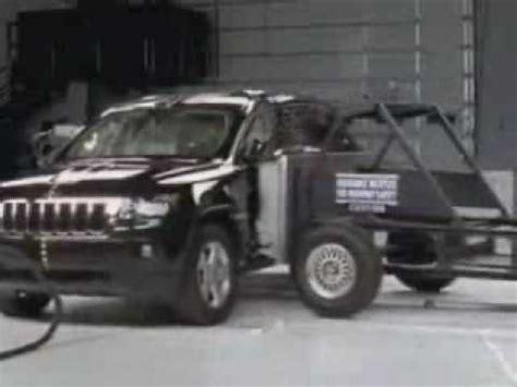Jeep Grand Crash Test Crash Test 2011 20 Jeep Grand Side Impact