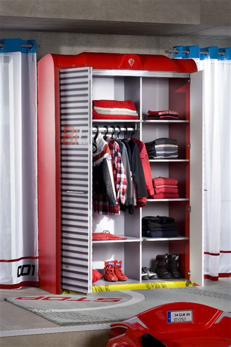 car bed bedroom garage wardrobe modern