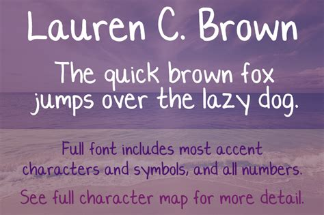 dafont license lauren c brown font dafont com